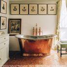 Une salle de bains Empire