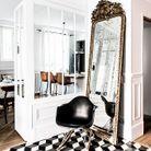 Le miroir de l'entrée