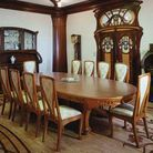 La salle à manger art nouveau