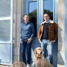 Frédéric Biousse, Guillaume Foucher, Octave et Martin, les nouveaux propriétaires du domaine