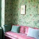 Le petit salon a été reconverti en « boudoir horticole »