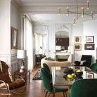 Salon vintage de luxe