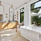 La salle de bains de Robert Redford à Napa Valley