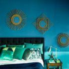 Chambre orientaliste au look vintage