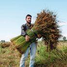 Nuno Henriques, créateur de la marque de paniers en jonc Toino Abel.