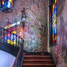 Cage d'escalier arty