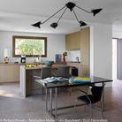 La cuisine en chêne gris