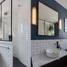 Appartement Salle De Bains Bleue