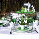1. Un centre de table végétal