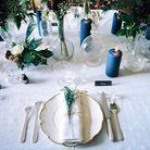 Centre de table bougies et vase