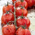 Huile de tomate confite