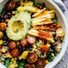 Salade healthy épicée au quinoa et mangue
