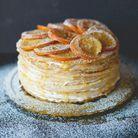 Gâteau de crêpes sans gluten