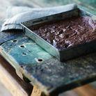 Brownie chocolat noisettes beurre demi sel sans farine