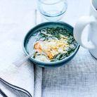 Bouillon aux légumes et petites pâtes