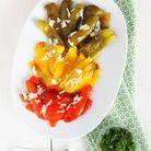 Avec des légumes confits