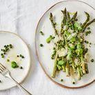 Légumes grillés, vinaigrette à l'anchois