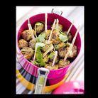 Cuisine recettes pique nique BOULETTES A LA CORIANDR