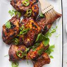 Travers de porc sauce tamarin