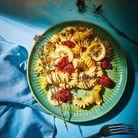 One pot pasta au citron et tomates cerises