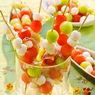 Effet hype garantie avec des brochettes de fruits