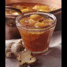 Abricots et brugnons au gingembre