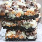 Magic cookie bars Oreo