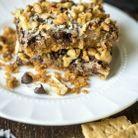 Magic cookie bars vegan