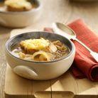 Soupe oignon, cheddar & cidre de New Covent Garden