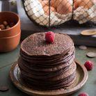 Gâteau de crêpe au chocolat
