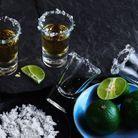 Tequila : 35% minimum