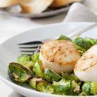 Les fruits de mer et crustacés sont un aliment riche en calcium