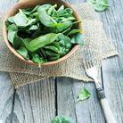 Les légumes-feuilles sont un aliment riche en calcium