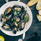 Les fruits de mer (palourde, moule), des aliments riches en fer