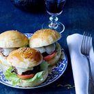 Hamburgers de canard au barbecue