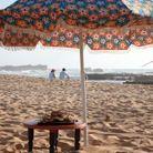 Sur la plage d'Oualidia