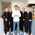 Cédric Grolet et son équipe