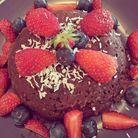 Bowl cake chocolat