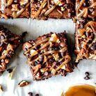 Brownie américain au caramel noix de pécan