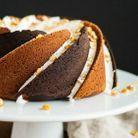 Bundt cake beurre de cacahuètes et cacao