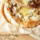 Camembert au four et thym
