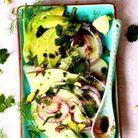 Carpaccio de légumes de printemps