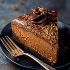 Cheesecake chocolat expresso