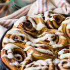 Cinnamon rolls au pain d'épices