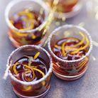 Cocktail hiver : Vin d'orange et raisins secs