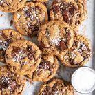 Cookies au chocolat noir et beurre noisette