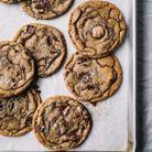 Cookies au chocolat noir et beurre salé