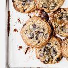 Cookies aux flocons d'avoine, caramel et chocolat