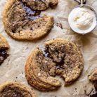 Cookies café chocolat noir