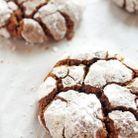Cookies craquelés aux épices
